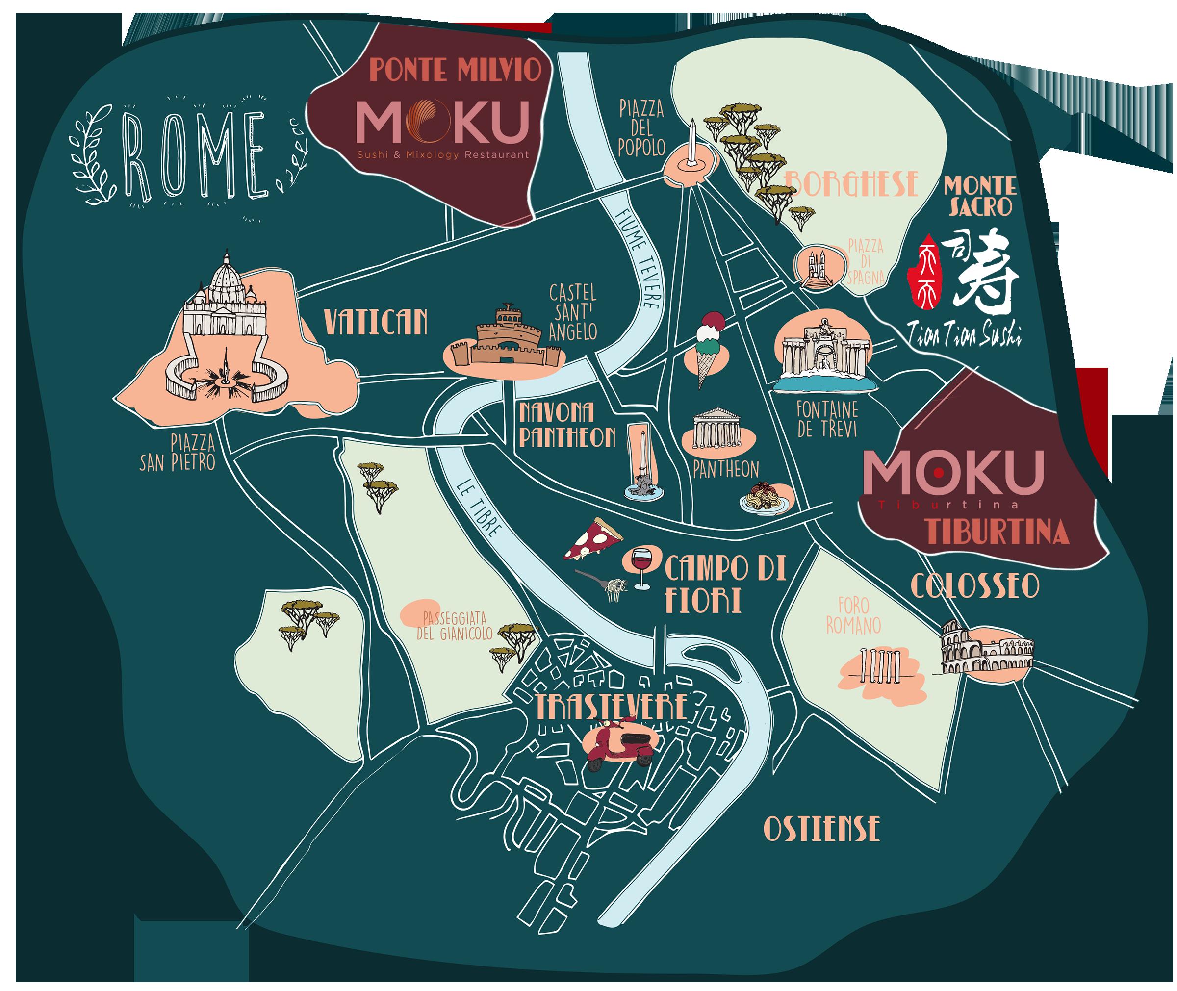 Moku maps